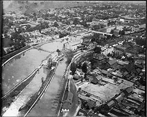 Thorold Oblique Aerial Photographs 1920